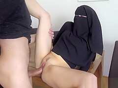 POOR MUSLIM NIQAB GIRL