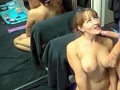 Busty slut huge facial