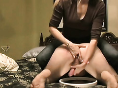 Female domination non-professional clip