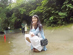 Street Pick Up Asian Babe, Censored Porn