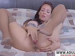 Super Step-mom Olivia Bell Fucking Hard Touching Step-son