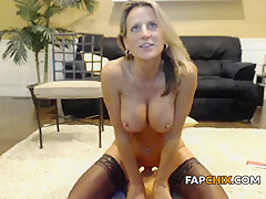 Charming Milf Fucks Herself With Sex Toys