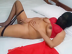 X Mas Fever Stocking With Big Boobs & Musterbation