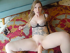 Shocked By A Massive Cock With Penny Archer