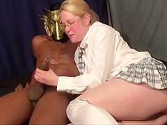 Realwife269 As Nerdy Schoolgirl Takes Bbc