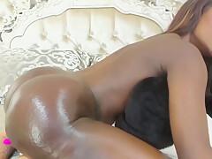 Huge Ass, Curvy Black Latina Camgirl