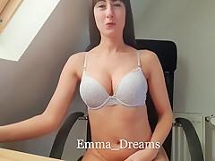 Help! My Creamy German Pussy! No Orgasm For A Week!