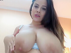 Jeleana Marie - Lactating Busty Latina Cutie (sophie)