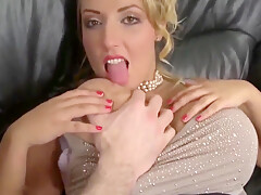 Sexy Milf Wife Gets Her Shaved Pussy Filled Up With My Cum