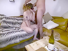Free - Perfect Boobs Brunette Anal Sex Cum Swallowing 1of4