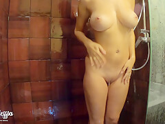 Do You Want To Take A Shower With Me And Wash My Big Tits?