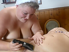 Christmas Surprise 01 - Girlfriend Shaves Me 1