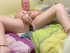 By Far The Best Solo Dildoing Masturbation Selfie Of 2020