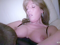 Bi Jenny And Maureen Flaherty In Two German Matures Tricked Young Friend Of Daughter Into 3some