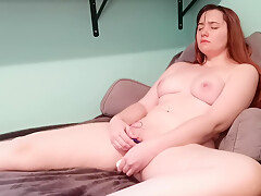 Newbie Amateur Masturbates With Toys