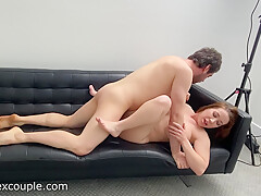 Bianca Burke Gets Fucked Hard On The Couch