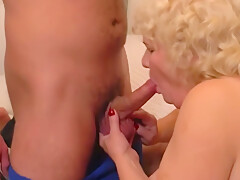 Granny And Mom Suck And Fuck Young Dicks