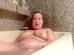 Great Bath Show Of Fatty Big Ass Big Boobs Sexy Woman