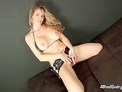 Sensuous Striptease With Anna Miller