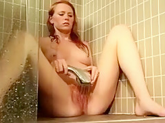 multiple orgasm in the shower