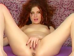 Red-haired Ukrainian Hetera