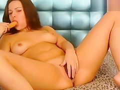 Sunny__love took off her panties and massages pussy
