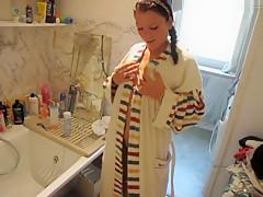 In Badewanne gepisst