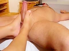 Fuß-Fisting Anal