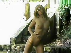 Strip am Wasserfall
