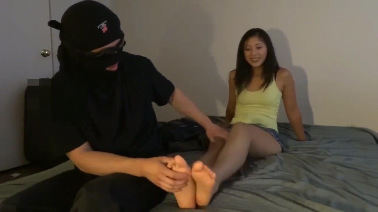 Tickling Tina's Soft Asian Feet