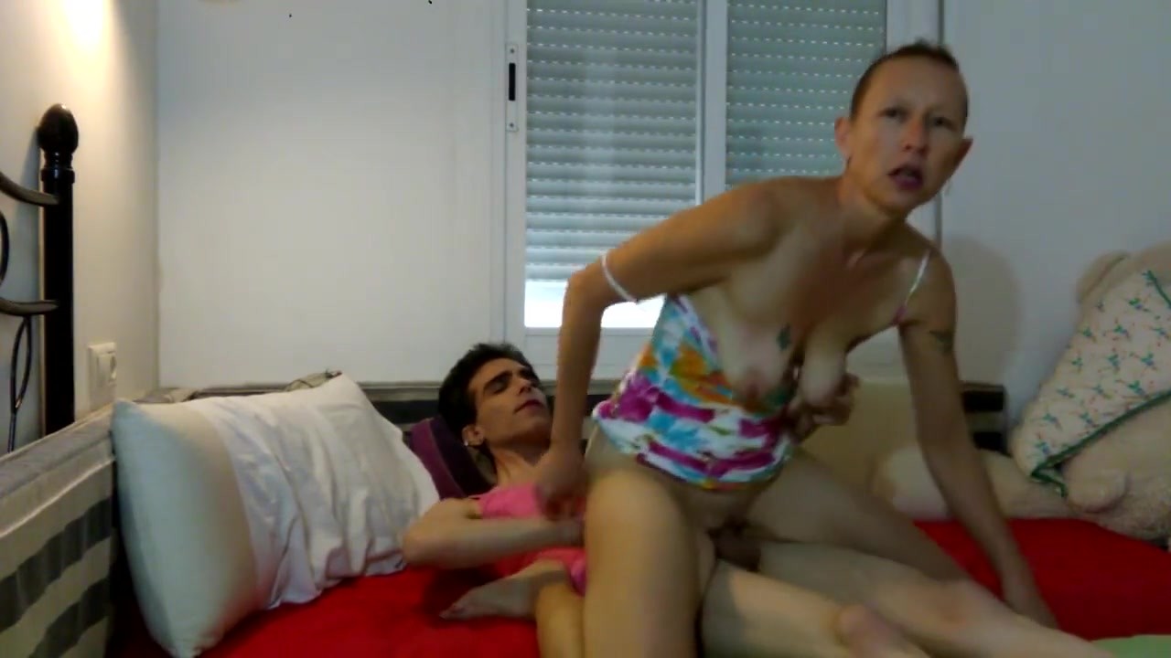 002 Trans Women Fucked by Cisgender Woman Part 1, Handjob, Blowjobs