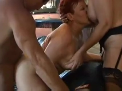 two matures and lucky guy3