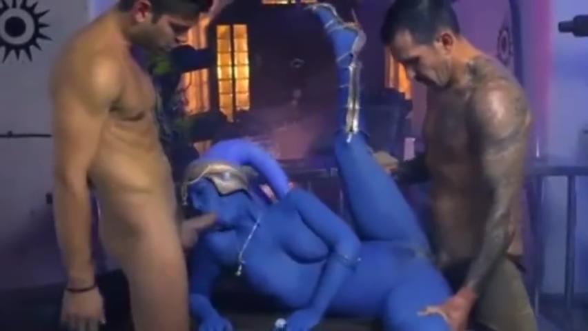 Star Wars XXX Parody - Slave Eva Lovia Takes Two Dicks