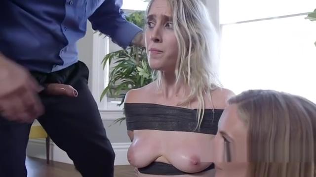 Bdsm couple banging blonde housewife