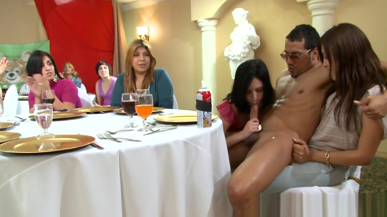 Glam amateur facialized by horny stripper