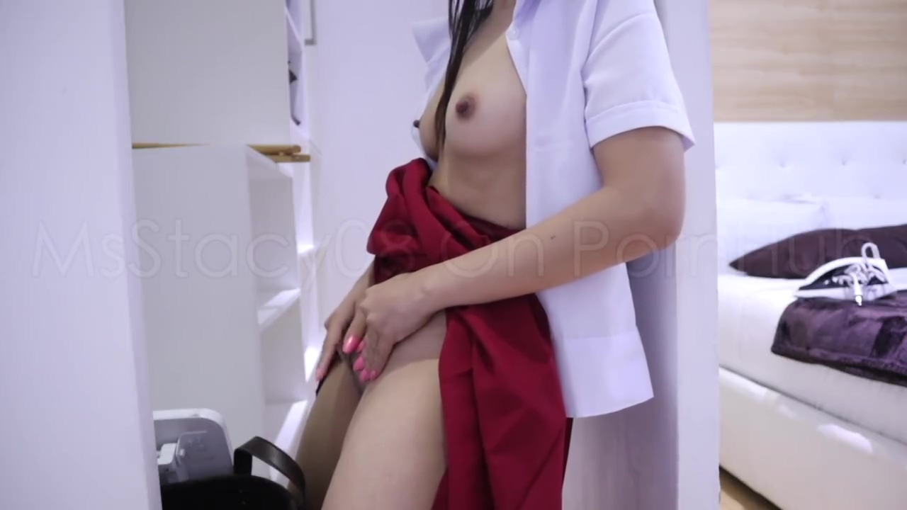 Pinay Student Homemade Scandal - Solo Masturbation Before Going To School
