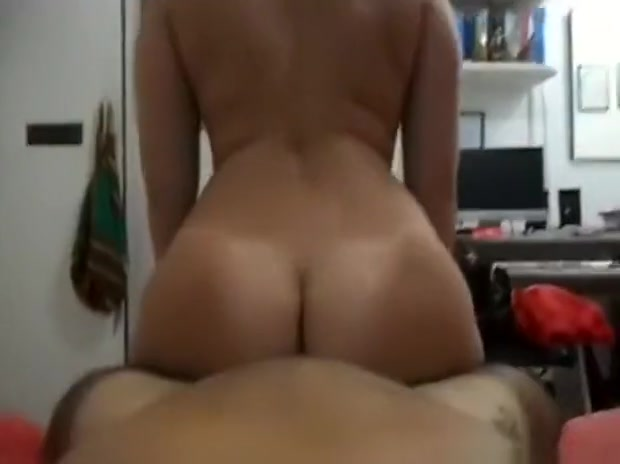 Blonde Wife Reverse Cowgirl